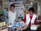 Zwei der guten Seelen im Laden